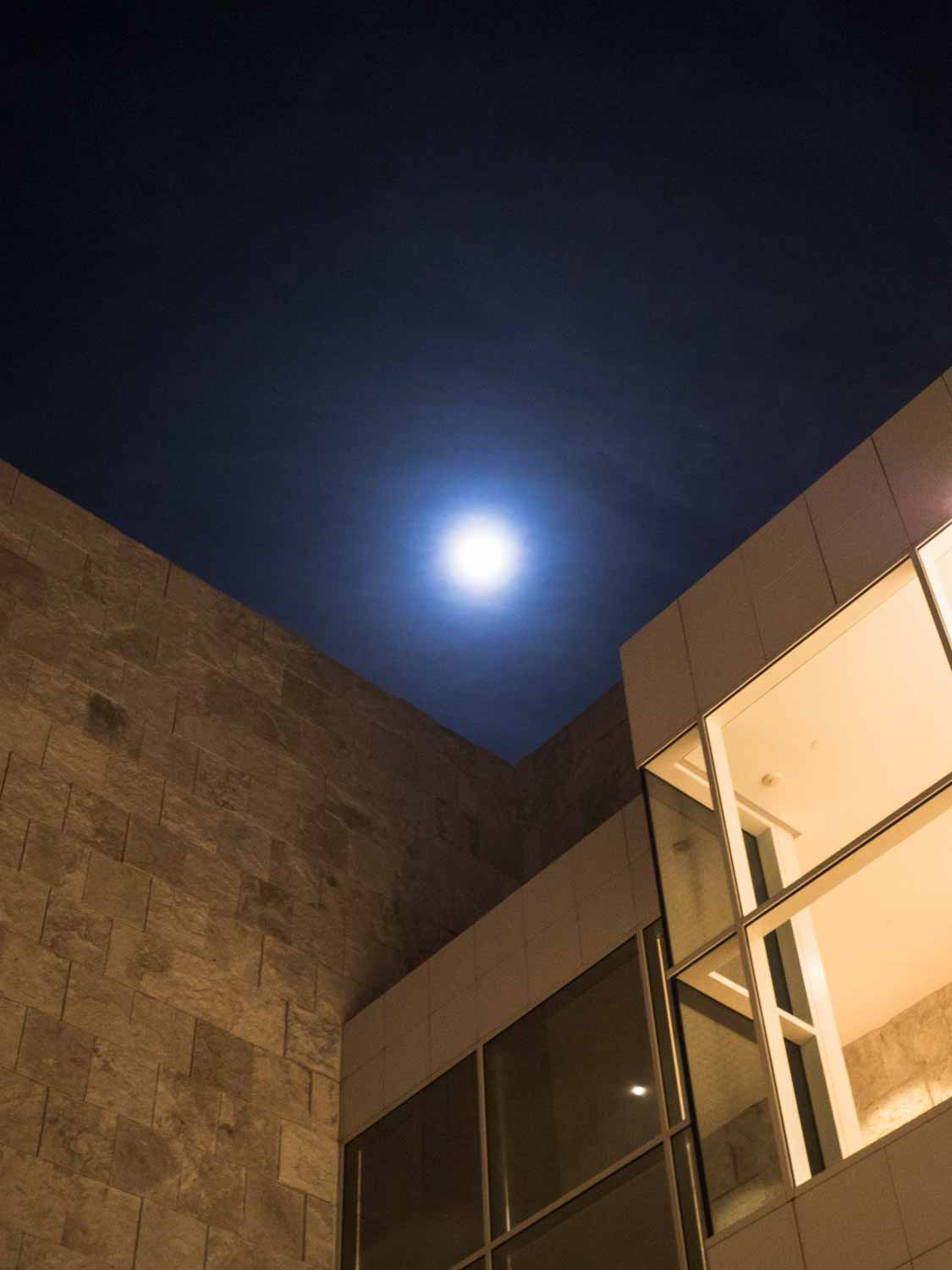 getty center moon